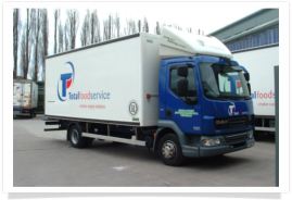 TOtal Foodservice's vehicle